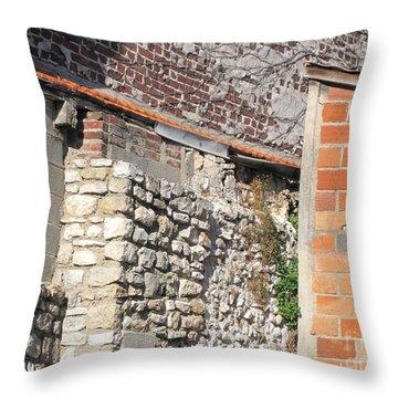 French Farm Wall Throw Pillow