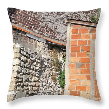 French Farm Wall Throw Pillow