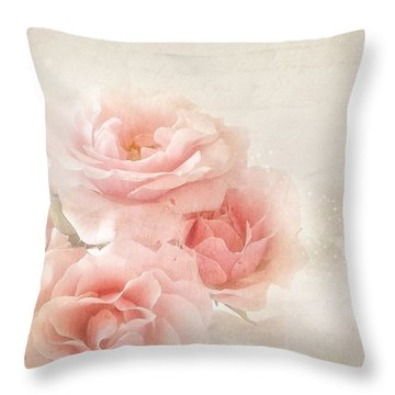 French Papers L Throw Pillow