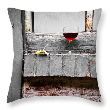French Party Throw Pillow