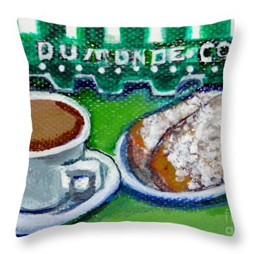 French Quarter Delight Throw Pillow