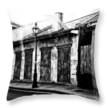 French Quarter Study 1 Throw Pillow