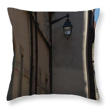 French Terraces Throw Pillow