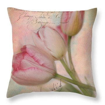 French Touch Throw Pillow