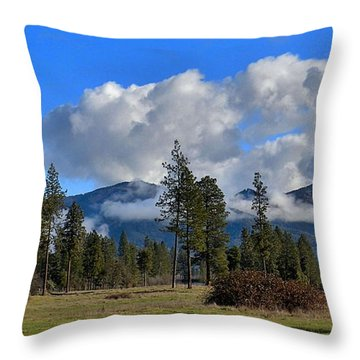 Throw Pillow featuring the photograph Fresh And Green by Julia Hassett