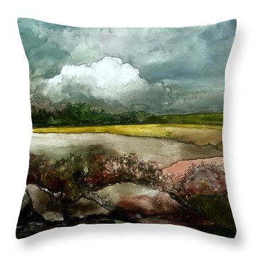 Fresh And Wet Throw Pillow