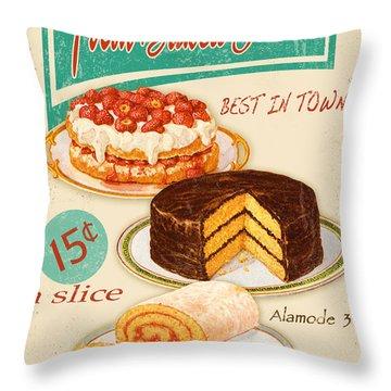 Fashion Plate Digital Art Throw Pillows