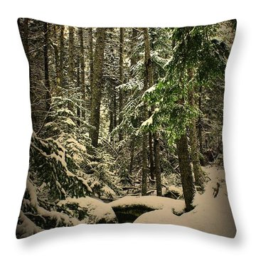 Fresh Blanket Throw Pillow by Greg DeBeck