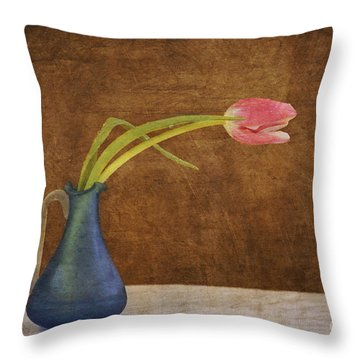 Fresh From The Garden Throw Pillow by Alana Ranney