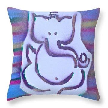 Fresh Ganesh 1 Throw Pillow by Tony B Conscious