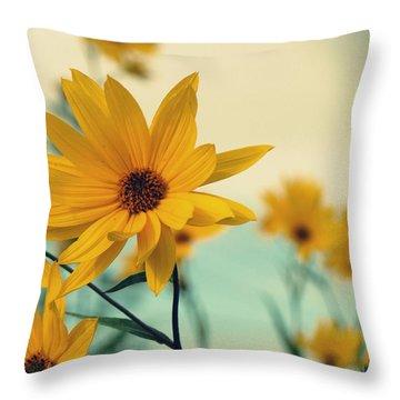 Fresh Linen 1 Throw Pillow by France Laliberte