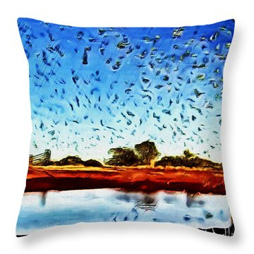 Fresh Mill Throw Pillow
