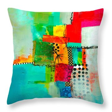 Fresh Paint #5 Throw Pillow