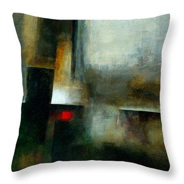 Fresh Paint #7 Throw Pillow by Jane Davies