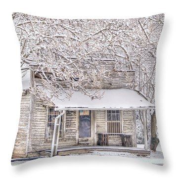 Freshwater Grocery Throw Pillow