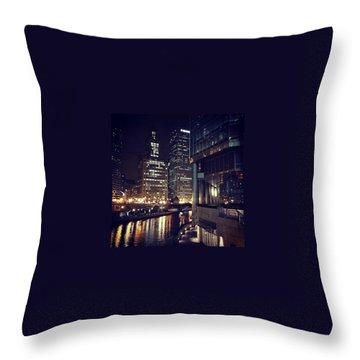 Cities Throw Pillows