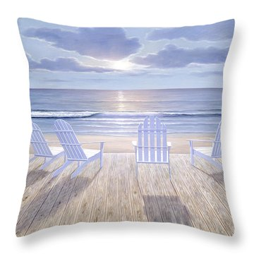 Friends And  Lovers Throw Pillow
