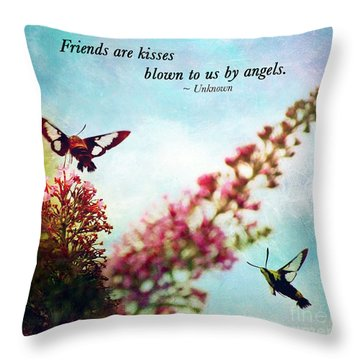Friends Are .....  Throw Pillow