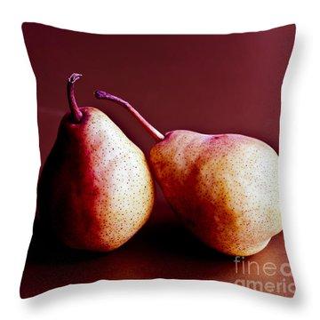 Friends Throw Pillow by Jan Bickerton