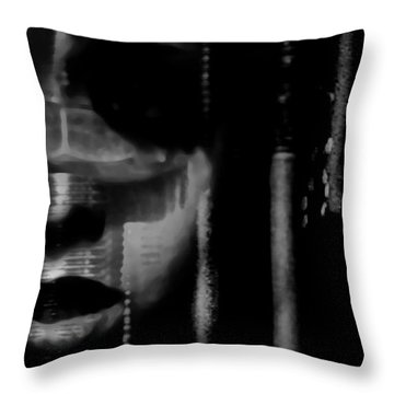 Frightened By Those Who Dont See It Throw Pillow by Jessica Shelton