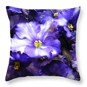 Frills Included Throw Pillow