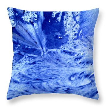 Throw Pillow featuring the digital art Frocean by Richard Thomas