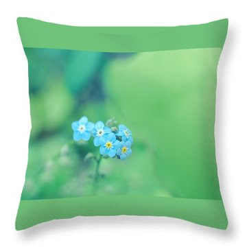 Froggy Throw Pillow by Rachel Mirror