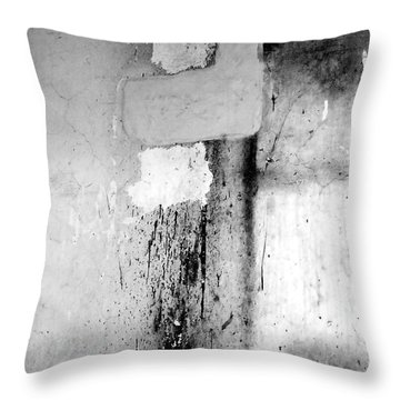 Throw Pillow featuring the photograph From Abandoned Factory by Mary Sullivan