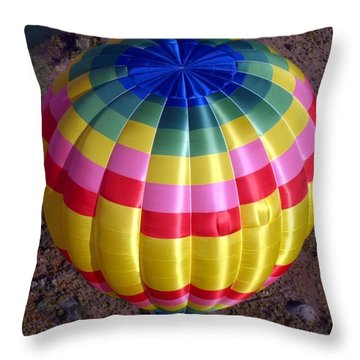 From Above Throw Pillow by Mary Rogers