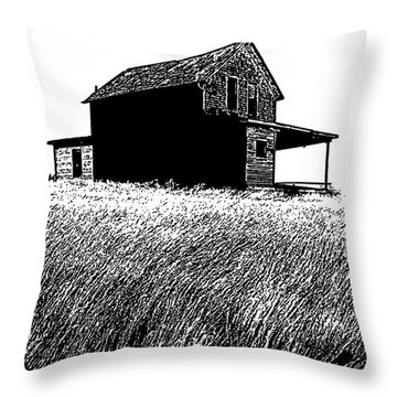 From Days Gone By Throw Pillow by Vivian Christopher