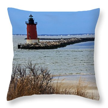 From Henlopen Point 2 Throw Pillow