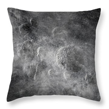 From Holes To Asteroids Throw Pillow by Loriental Photography