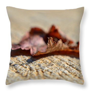 From My Heart Throw Pillow by Melanie Moraga