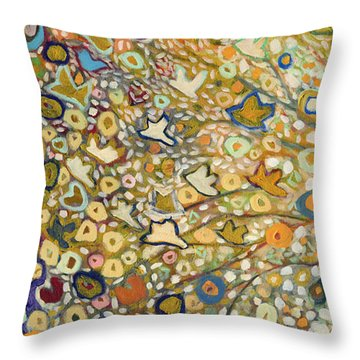 From Out Of The Rubble Part A Throw Pillow