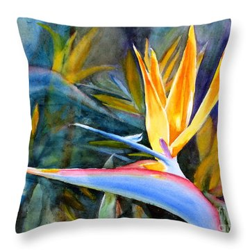 From Paradise Throw Pillow by Mohamed Hirji