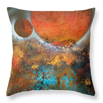 From Planet's View Throw Pillow