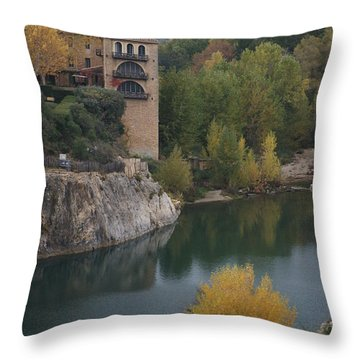 From Pont Du Gard Throw Pillow