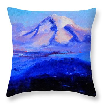 From Portland Throw Pillow