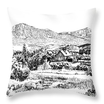 From Simpler Times Throw Pillow