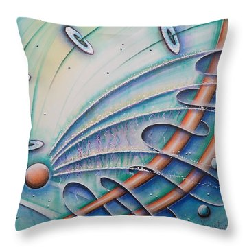 From Sphere To Eternity Throw Pillow