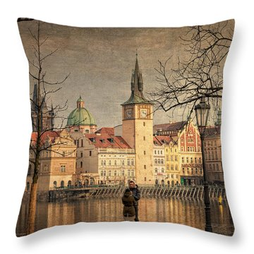 From Strelecky Island Throw Pillow