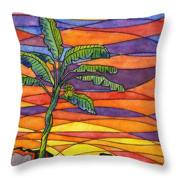 From The Ashes Throw Pillow by Diane Thornton