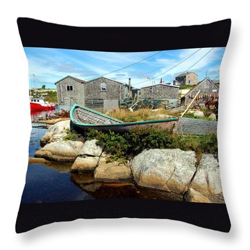 From The Cove Throw Pillow by Ron Haist