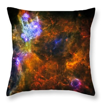 From The Darkness Throw Pillow by Jennifer Rondinelli Reilly - Fine Art Photography