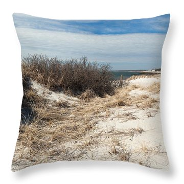 From The Dunes Throw Pillow