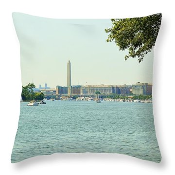 From The General's Home Throw Pillow