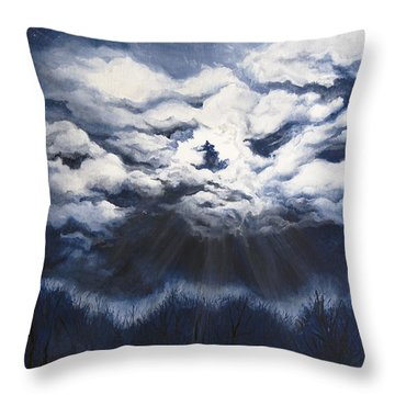From The Midnight Sky Throw Pillow