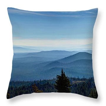 From The Rim Throw Pillow