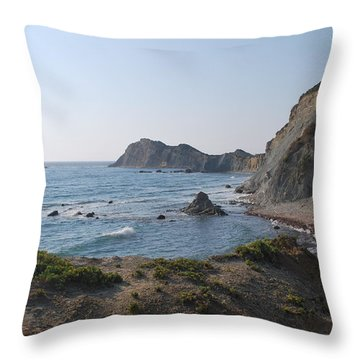 From The West Throw Pillow by George Katechis