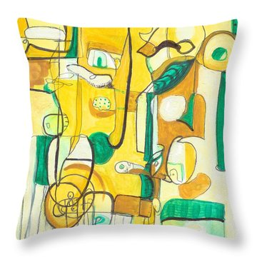 From Within 10 Throw Pillow by Stephen Lucas